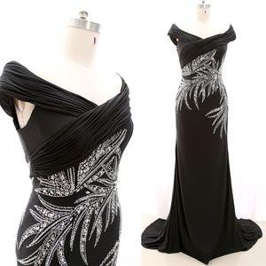 Off the Shoulder Mother Dress Formal Evening Dress